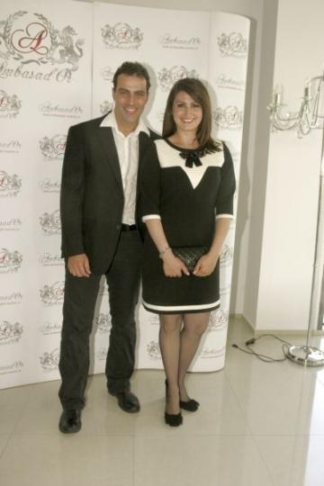 Adriana Nicolae si Oltin Hurezeanu la Premiile VIP