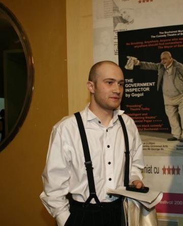 Mihai Bendeac, fericit ca joaca pe aceeasi scena cu Adela Popescu