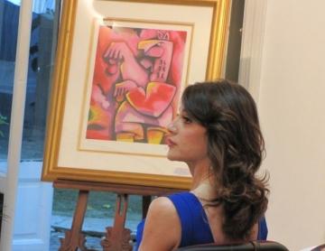 Picasso versus Micuta Picasso, in scop caritabil