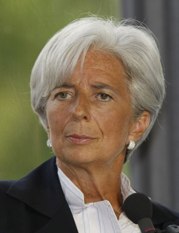 Christine Lagarde, prima femeie in toate