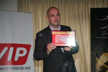 Kelemen Hunor si Ion Iliescu, laureatii Galei Premiilor VIP