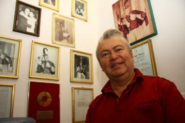 Gheorghe Turda, fascinat de artista Diana Matei