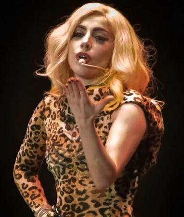 Lady Gaga lanseaza un album foto