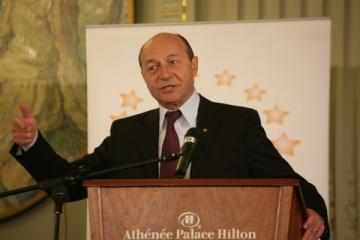 Traian Basescu: Romania este inca fragila