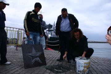 Bogdan Ota a primit o stea pe Aleea Stelelor de la Mangalia