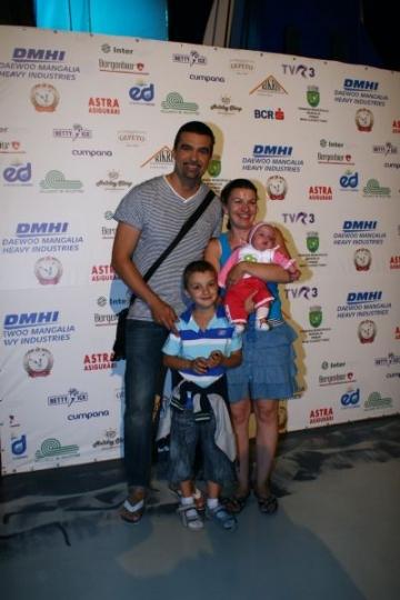 Aurelian Temisan si Monica Davidescu nu vor bone pentru fiica lor