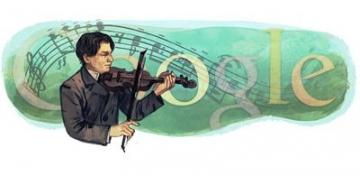 Google il omagiaza pe George Enescu