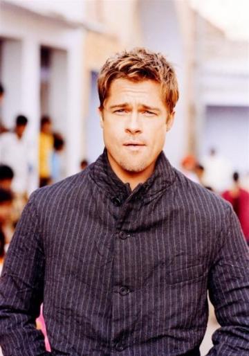 Cum a ajuns Brad Pitt erou in presa scotiana