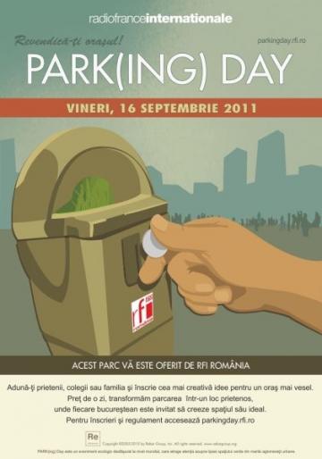 Peste 20 de modalitati de a-ti revendica orasul la PARK(ing) Day