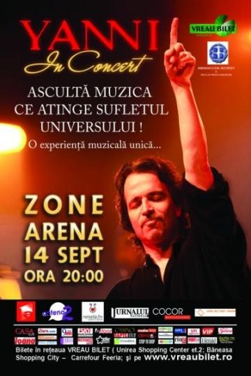 Concurs Superlative: castiga bilete la concertul Yanni!
