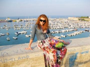 Diana Bisinicu (ex-Pops) a facut turul Italiei in cinci zile