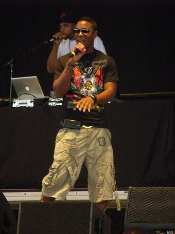 Rap-erul Jeremiah, prietenul lui 50 Cent, la cazinou in Romania