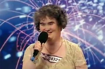 Susan Boyle, din nou in centrul atentiei