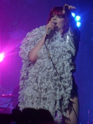 Florence Welch a primit sfaturi de la Bono