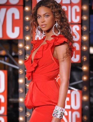 Beyonce asteapta o fetita