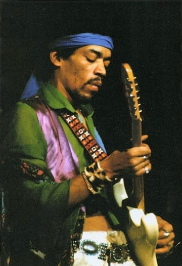 Jimi Hendrix, desemnat cel mai bun chitarist din istorie