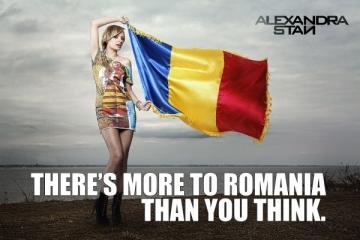 Alexandra Stan lanseaza o campanie inedita de ziua Romaniei