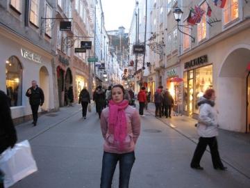 Livia Graur a vizitat Piata de Craciun din Salzburg