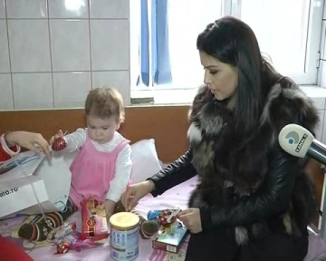 Simona Patruleasa, la capataiul unui copil suferind