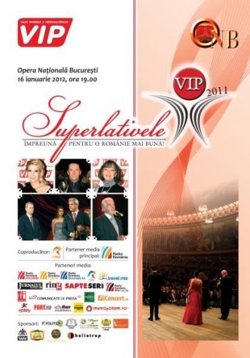 Au mai ramas 4 zile pana aflam castigatorii trofeului Superlativelor VIP 2011!