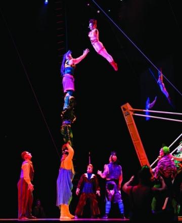Cirque du Soleil aduce Saltimbanco la Bucuresti