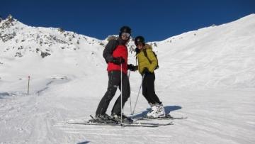 Andi Moisescu si Olivia Steer, vacanta in Austria