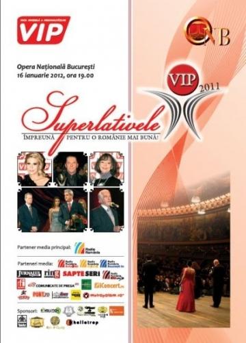 TVR 2 prezinta Gala Superlativelor VIP 2011