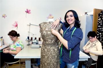 Emma Zeicescu se dedica in totalitate creatiei vestimentare