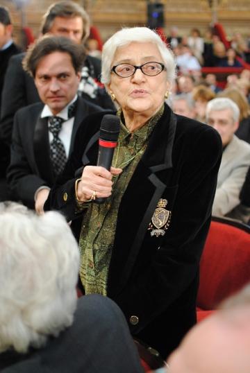 Olga Tudorache, o actrita puternica