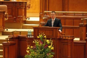 Guvernul lui Mihai Razvan Ungureanu a fost spulberat de motiunea Opozitiei