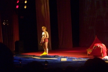 Claudiu Bleont s-a dat in spectacol la Constanta