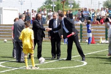 """Michel Platini: """"Copiii sa nu mai joace fotbal pe strazi"""""""