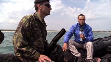 Laurentiu Radulescu a simtit pe pielea lui ce inseamna minarea subacvatica