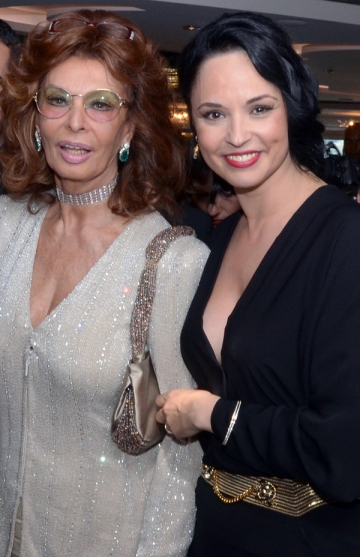 "Andreea Marin Banica: ""Sophia Loren impune un profund sentiment de admiratie"""
