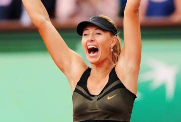 Maria Sharapova a castigat Roland Garros