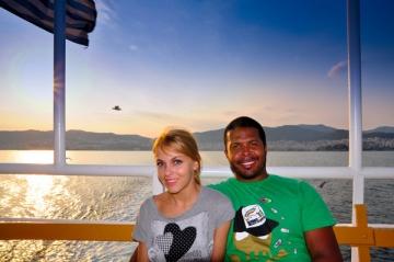Cabral si sotia sa au petrecut in Grecia o vacanta de vis