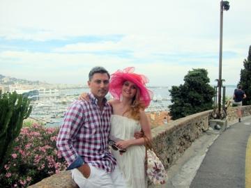 Alina Sorescu si sotul sau au mers in vacanta la Monte Carlo
