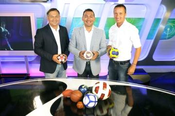 Trei eroi ai fotbalului romanesc au sarbatorit trei ani de Digi Sport