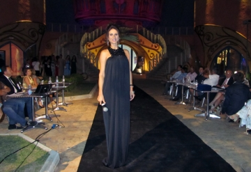 Ramona Badescu a iesit in evidenta la Roma in rochia Mihaelei Drafta