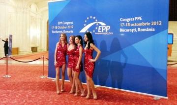 Trupa Amadeus a cantat pentru parlamentarii europeni