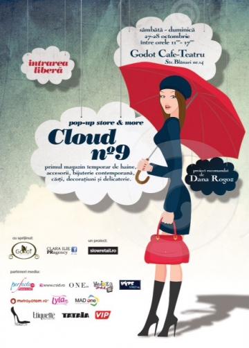 Cloud no °9 - primul pop-up store dedicat produselor de autor