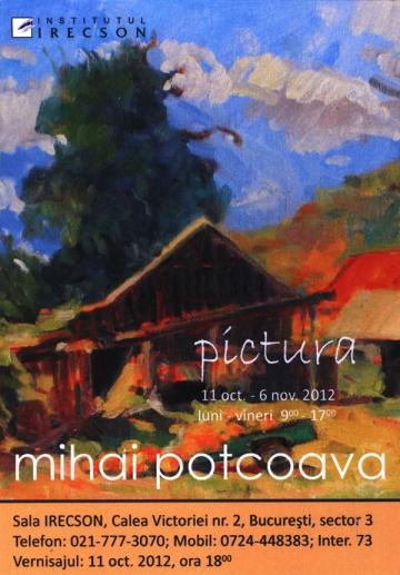 """""""Pictura""""- o noua expozitie semnata de Mihai Potcoava"""