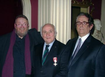 Richard Demarco a primit Ordinul Meritul Cultural al Romaniei