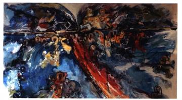 """""""Vazut si Nevazut"""", sau marturiile pictorului cu nume de ingeri"""
