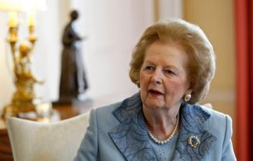 "Margaret Thatcher, ""Doamna de Fier"", a cedat doar in fata bolii..."