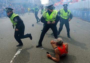 Boston Marathon: mesaj dintr-o suflare