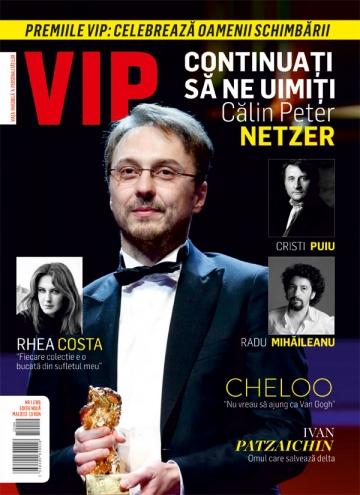A aparut noul numar al revistei VIP: un alt inceput