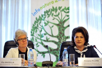 "Rovana Plumb: ""Natura ne va proteja, daca noi vom proteja natura"""