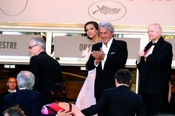 Alain Delon nu s-a recunoscut in filmul vizionat la Cannes 2013
