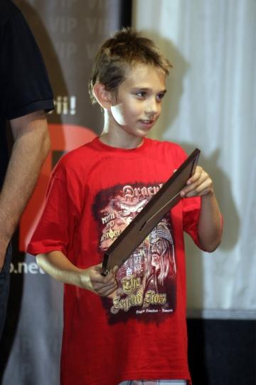 Mihaita jr a primit Diploma VIP in dar, de ziua lui
